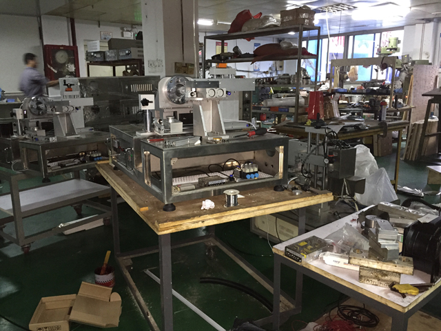 Spare parts workshop for filling sealing machine