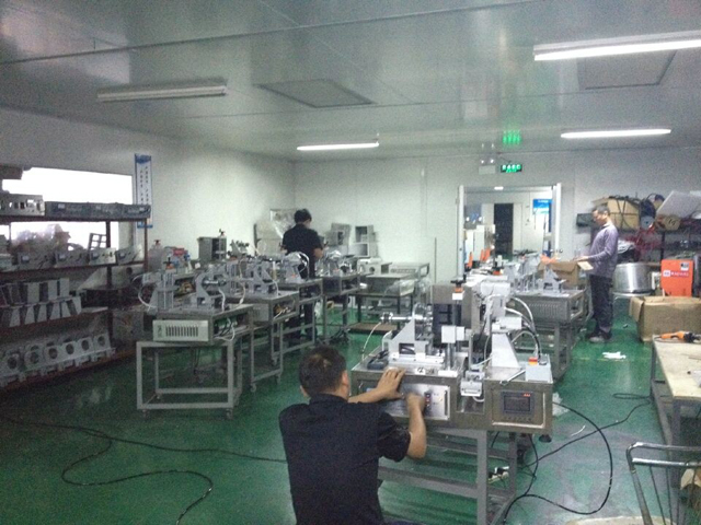 Factory for manufacturing ultrasonic sealing machine