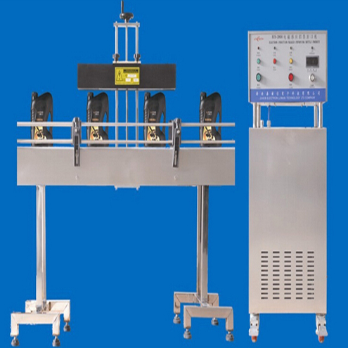 automatic jars bottles induction sealing machine electromagnetic sealer equipment  for pharmaceutical bottling line