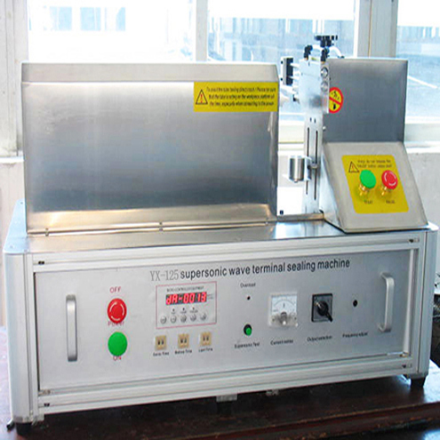 tabletop ultrasound sealing machine semi automatic for plastic laminumated tubes aluminum hose sealer equipment ultrasonic wieding